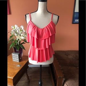 KENNETH COLE REACTION bright coral tank top